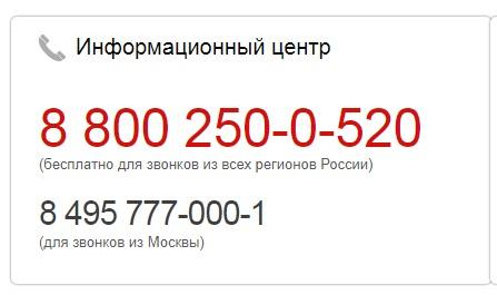 контакты МТС Банка