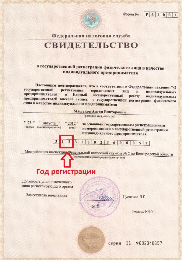 Узнать дата регистрации ип отправка бесплатной электронной отчетности